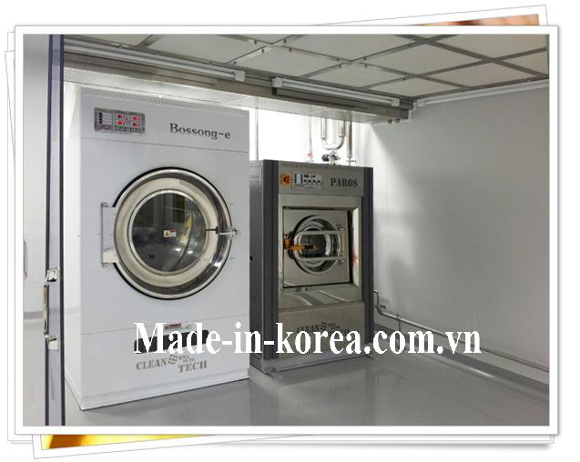 Máy sấy quần áo korea 100kg