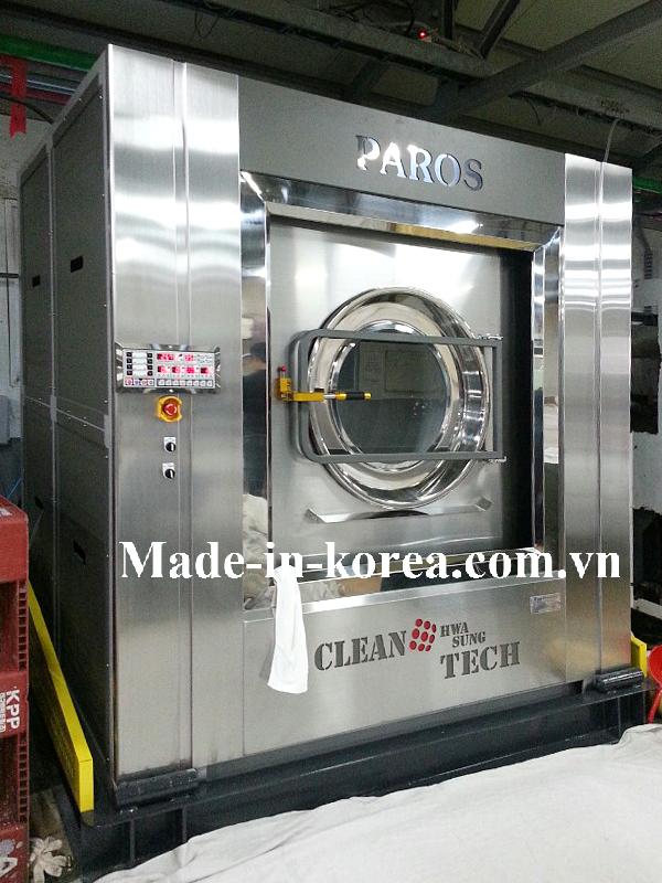 Máy giặt vắt sấy korea 50kg