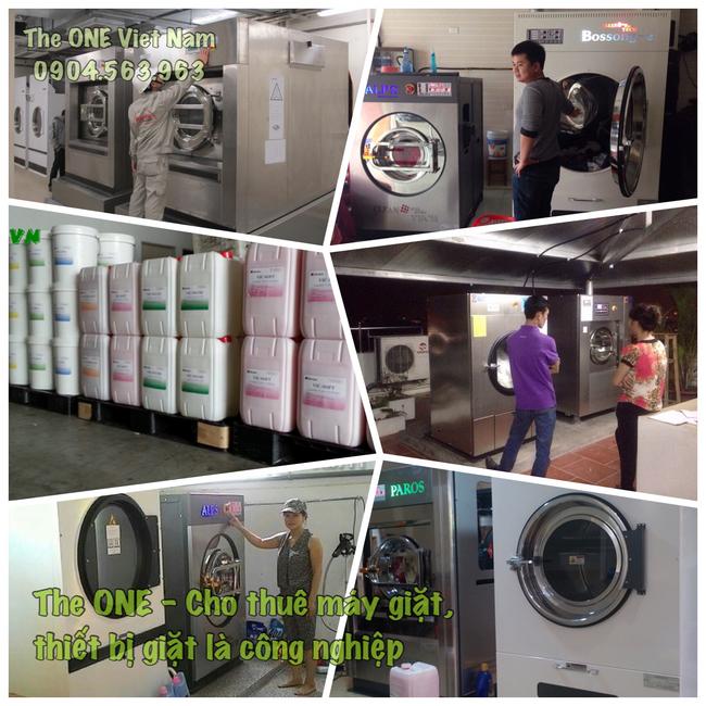 Cho thuê thiết bị giặt là công nghiệp